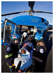 EMS Operations Department - Providing Medevac helicopters to health care professionals